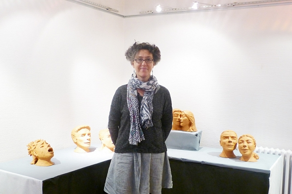 Exposition de sculpture d'Isabelle Vervier