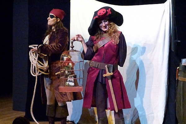 Spectacle «Pirates», 16 juillet 2014