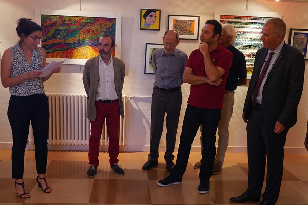 Vernissage exposition MITeinader-P'ARTage, 15 septembre 2018