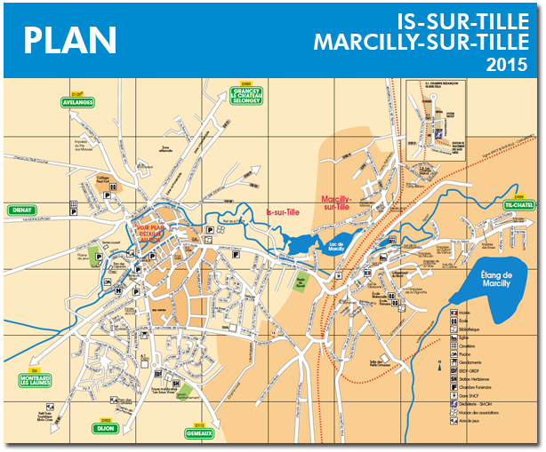 Plan d'Is-sur-Tille