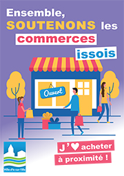 Affiche commerce Pixels small