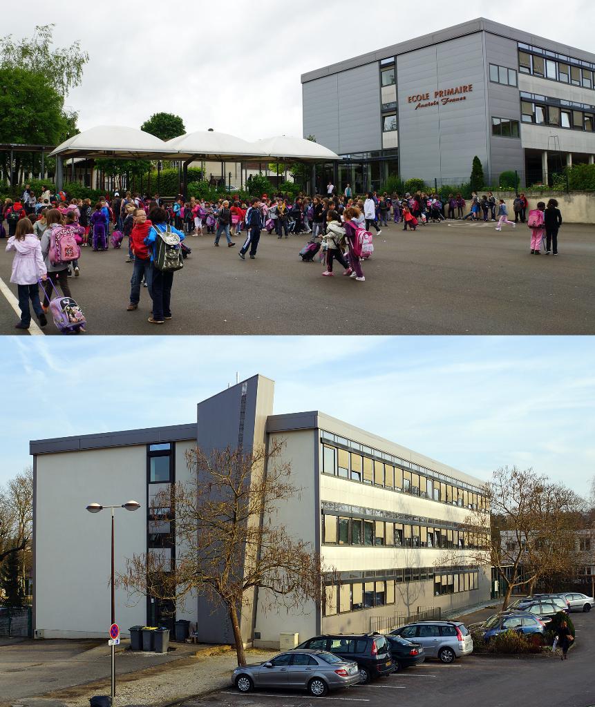 école élémentaire anatole france mérignac